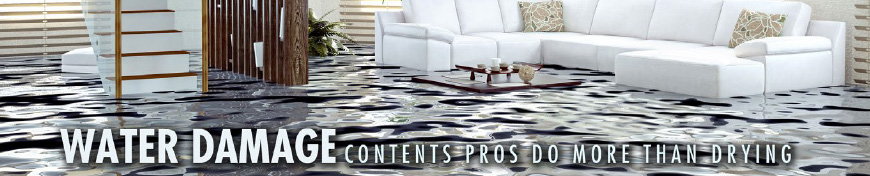 water in living room