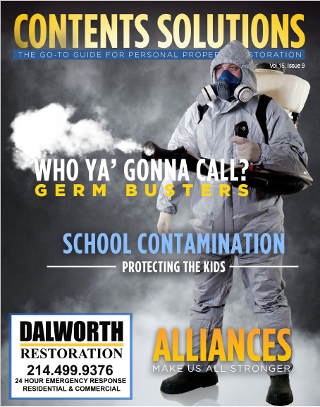 Who Ya Gonna Call? Germ Busters!