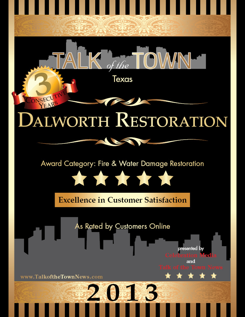 2013 Talk of the Town Award Winner