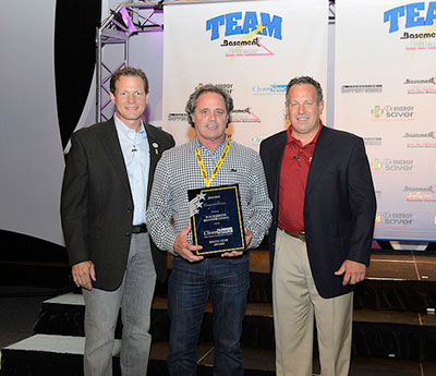 Team Basement Systems' CleanSpace Rising Star Award for 2013