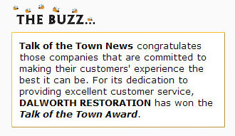 The buzz from the Talk of the Town Award.