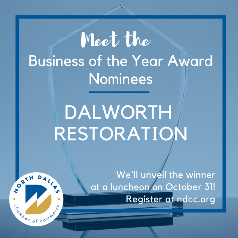 Dalworth Restoration Nominated for Business of the Year 2017