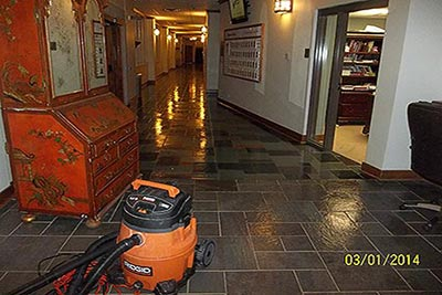 Water and Soot Damage Clean-up in Highland Park, Texas