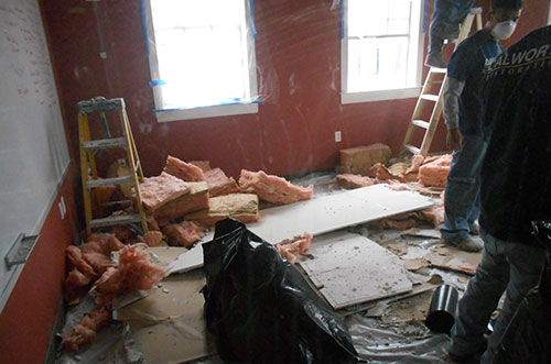Water Damage Cleanup Case Study in Dallas, TX