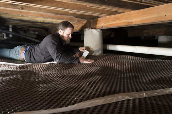 Crawl Space Vapor Barrier Installation In Dallas Fort