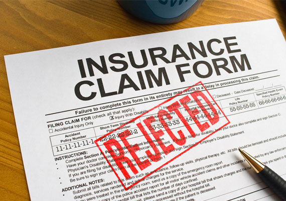Insurance Claim Difficulties