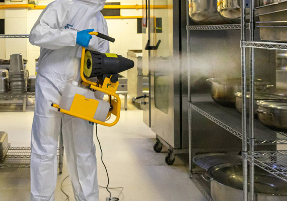 Commercial Disinfectant Treatment