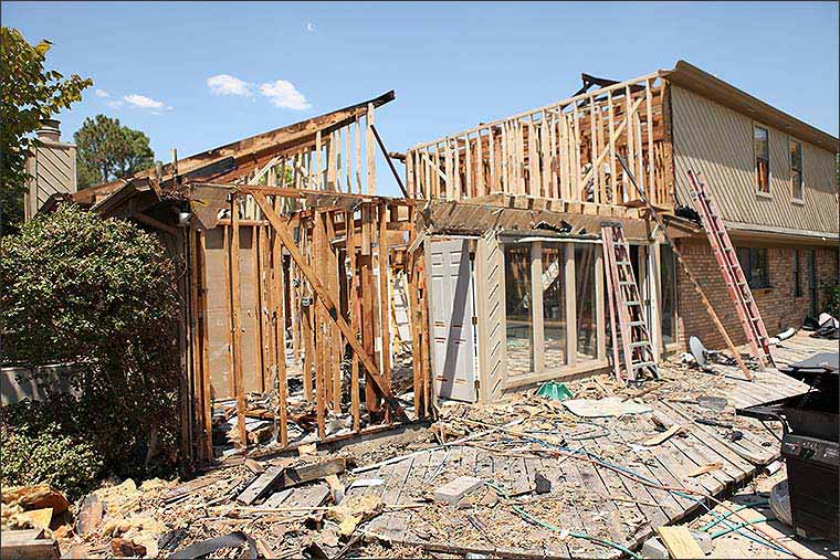 Bedford, TX Fire Damage Restoration Project