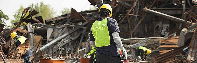 Dalworth provides commercial disaster cleanup and restoration