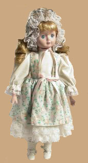 A fragile doll that has gone through professional contents restoration.