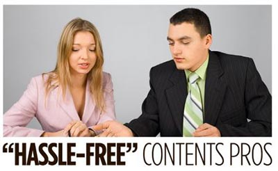 hassle-free contents pros