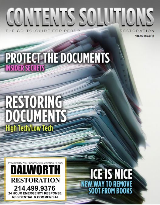the november cover of contents solutions