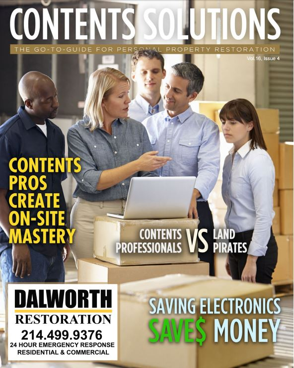 The april cover of contents solutions