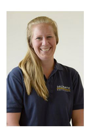Melanie Anderson is Dalworth Restoration's team coordinator for construction and home performance departments