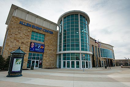 The Allen Event Center is a fixed-seat multi-purpose arena located in Allen, Texas.