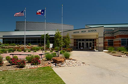 Argyle High School is home of the Eagles and the 2013 Class 3A Division II football State Champions in Argyle, TX.