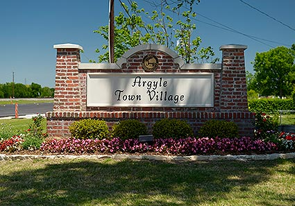 The Argyle Town Village welcomes residents and visitors of the beautifully aesthetic residential neighborhood in Argyle, TX.