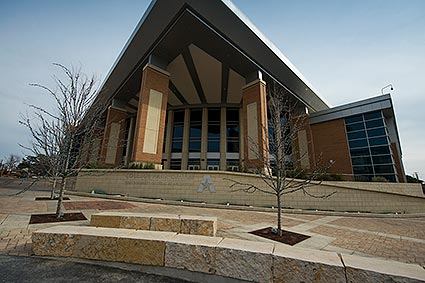 UT Arlington's College Park Center is an events arena in Arlington, TX.