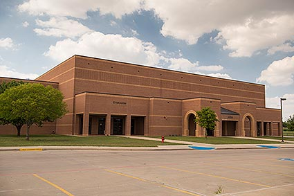 The Burleson High School gymnasium is home to the Burleson, TX Elks.