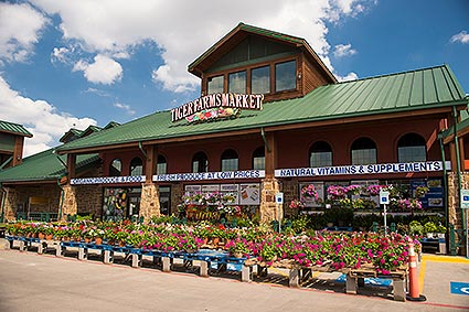 Tiger Farms Market is a local store for organic and natural fresh produce, grains, seeds, nuts, candies, supplements, vitamins, wine and beer in Burleson, TX.
