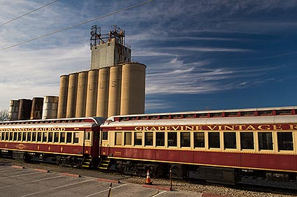 The Grapevine Vintage Railroad is the oldest continuously operated steam engine in the South.
