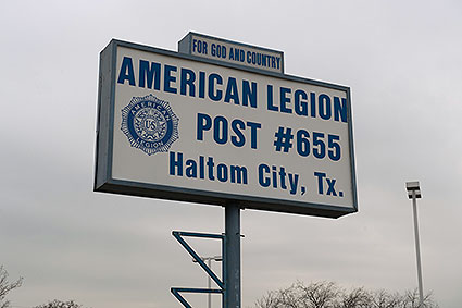 The American Legion Post in Haltom City, TX is a facility serving veterans, servicemembers, and communities.