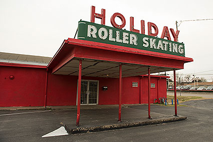The Haltom City, TX roller skating rink called Holiday Skatium is known for its long history in the city.