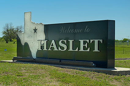 Haslet, TX was incorporated as the City of Haslet in January 1961.