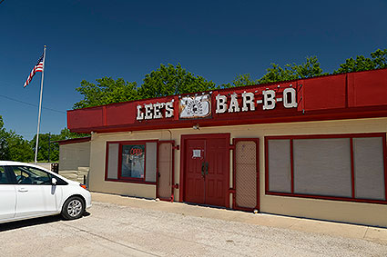 Lee's Hickory Smoked BBQ in Haslet, TX is a local favorite serving a variety of smoked meats.