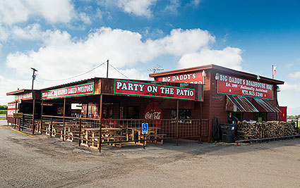Big Daddys Roadhouse Barbecue is an award winning barbecue restaurant in Lavon, TX.