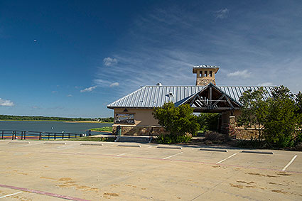 The Lighthouse Grill in Little Elm, TX is a casual restaurant and concessions stand next to the Little Elm Park Beach.