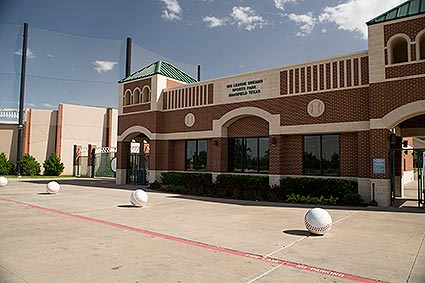 The Big League Dreams sports park has scaled-down replicas of famous ballparks, as well as indoor soccer leagues in a 20,000 square foot indoor pavillion in Mansfield, TX.