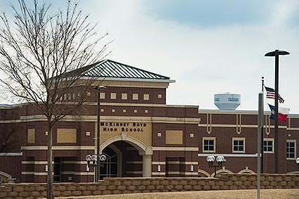 McKinney Boyd High School is home of the Broncos and the third high school in McKinney, TX.