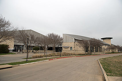 The NYTEX Sports Centre is a multi-purpose arena and home to the Lone Star Brahmas of the North American Hockey League in North Richland Hills, TX.