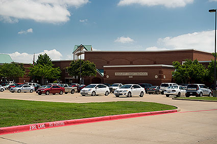 Rowlett High School is the home of the Rowlett, TX Eagles.