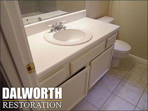 remodeling bathroom in North Texas