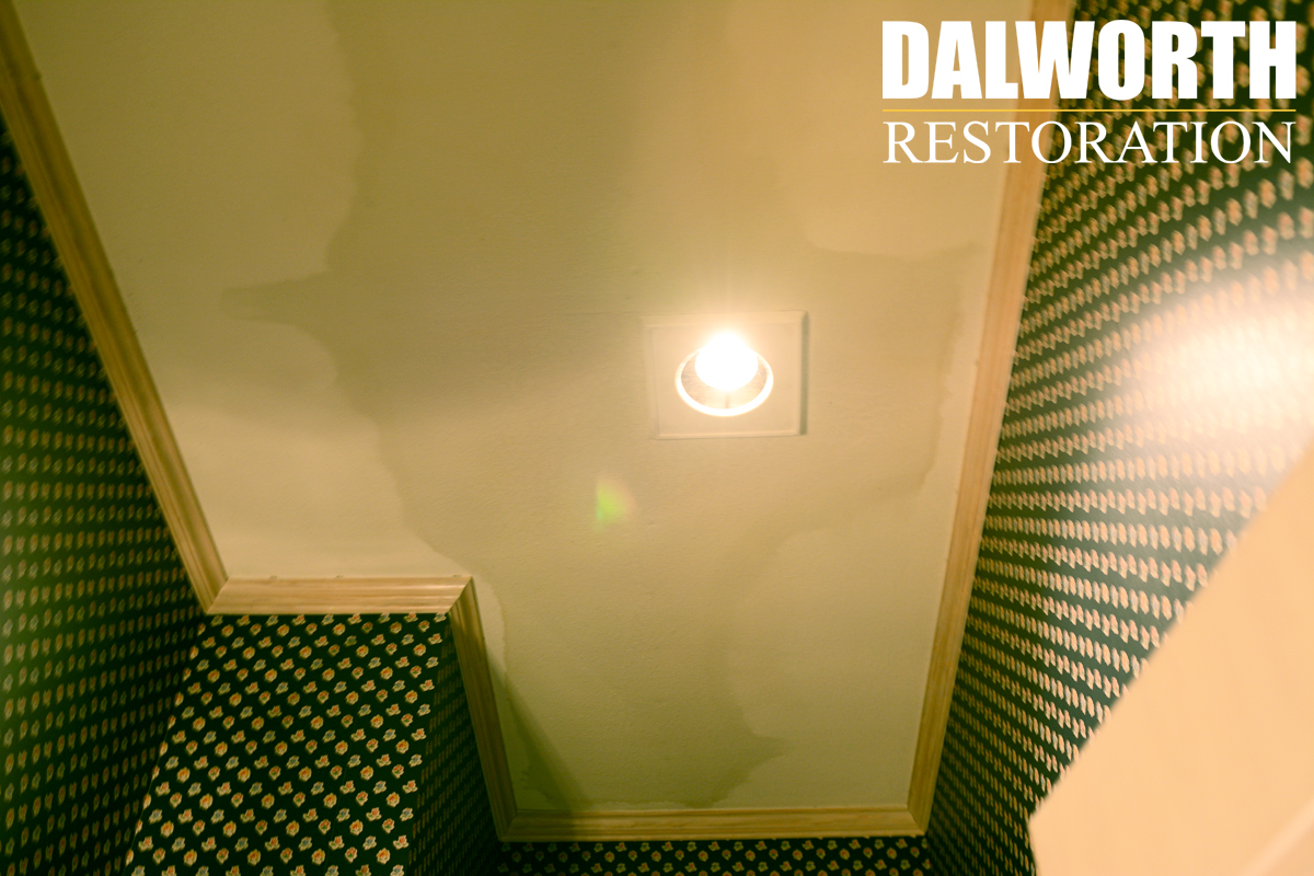Ceiling Water Damage Repair In Dallas Fort Worth And North